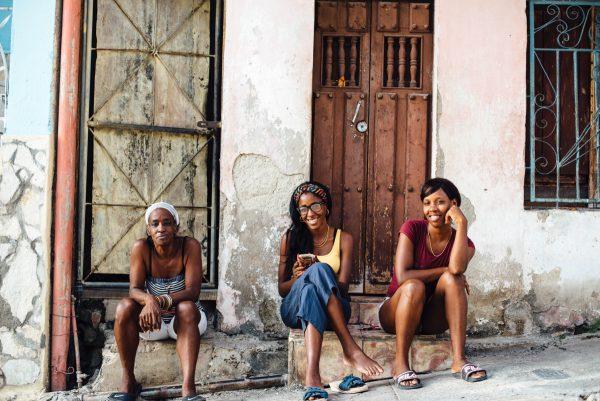 陽気なキューバの人々