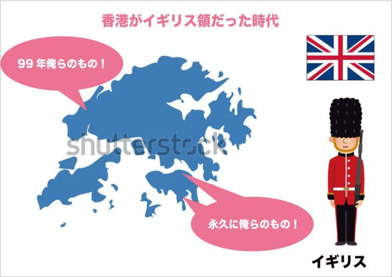 香港がイギリスだった頃