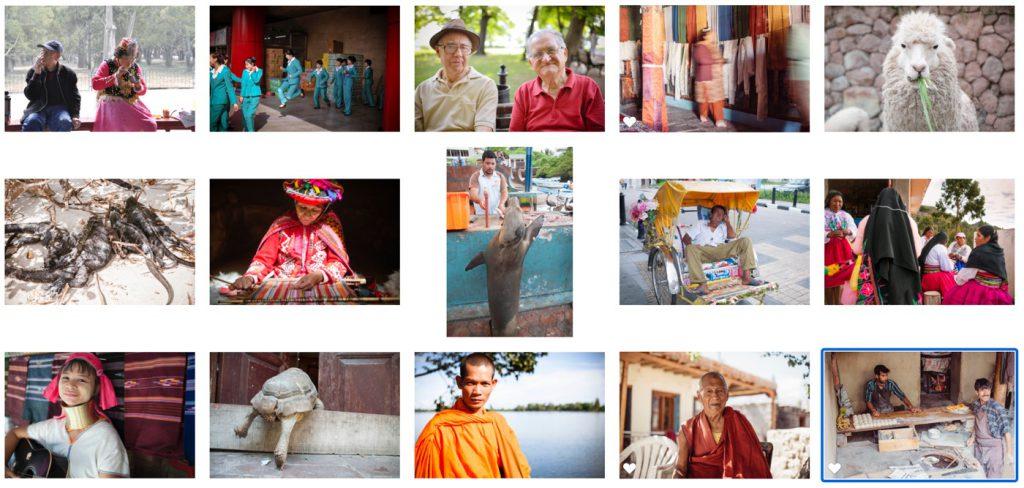 写真展のためにセレクトした15枚の写真