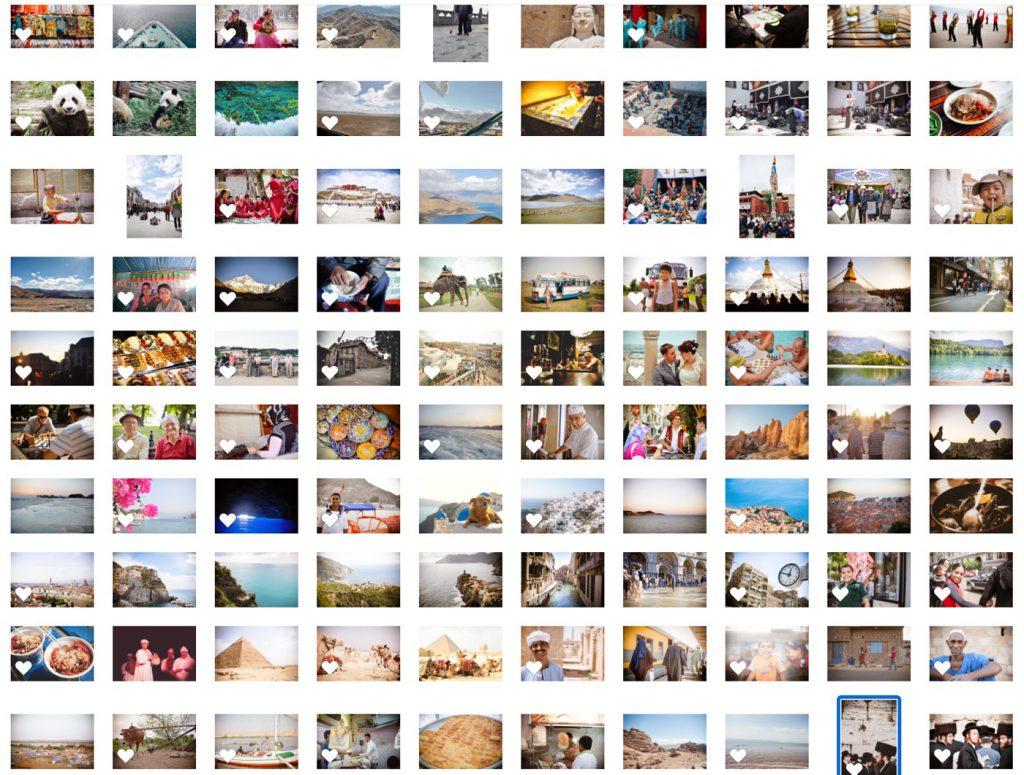 写真展のためにセレクトした300枚の写真