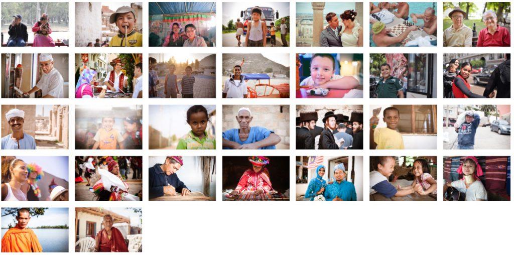 写真展のためにセレクトした30枚の人物写真