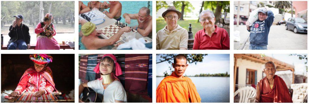 写真展のためにセレクトした8枚の人物写真