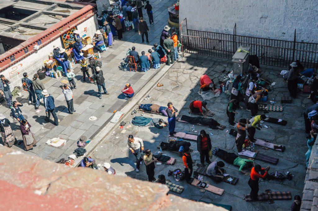 チベットのラサ