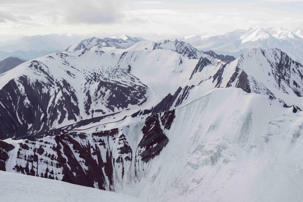ラダック最高峰・ストックカンリ山の頂上