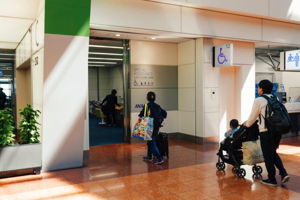 羽田空港の優先搭乗