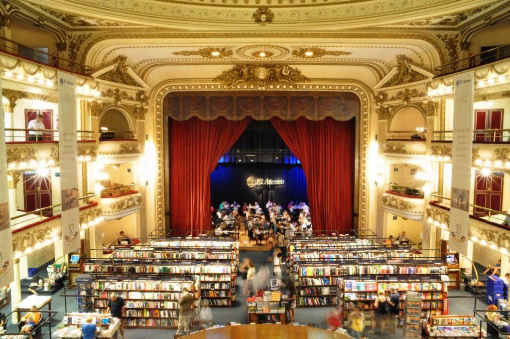 ブエノスアイレスにある世界一美しい本屋さん