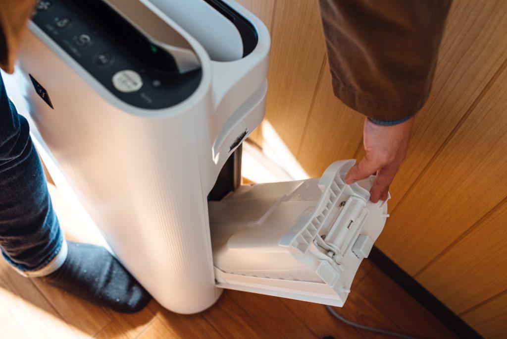 空気清浄機は加湿器付きがオススメ